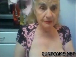 Old Granny Labyrinth her Hooters on Webcam - More at cuntcams.net