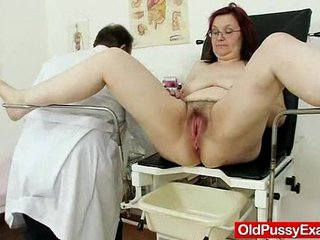 S/M grandma enema during a medical exam