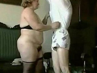 Granny highly hairy pussy jizzed on