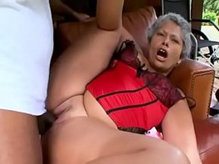 EVASIVE ANGLES Granny gets fucked by BBC