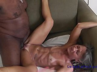 Granny gets thick dick