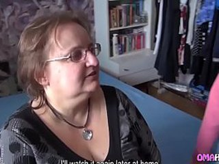 Granny has sex with 20 year olds