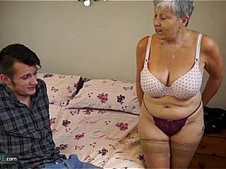 AGEDLOVE Granny Savana fucked with indeed firm stick