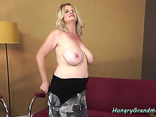 Bucktoothed Granny Screwed Doggystyle