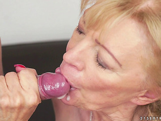 Saggy Scoops Granny Drilled Hard-core By A College Lad