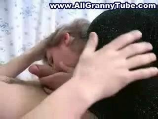 Granny fucked by a younger gifted