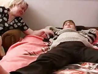 Mom brutish son to fuck her