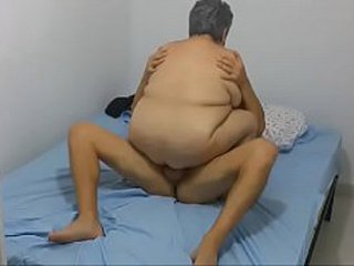 HIDDEN CAM OLD GRANNY 63 YEARS OLD Highly Insane Screwing YEAHHH