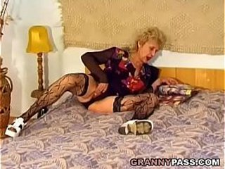 Sadism Granny Gets Nailed Hard By A Young Hard-on