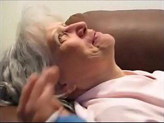 This granny truly love drink sperm from dick