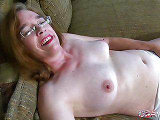 USAwives Hairy Granny Pusssy Nailed With Hookup Fucktoy