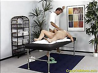 Mom bitchy by masseur
