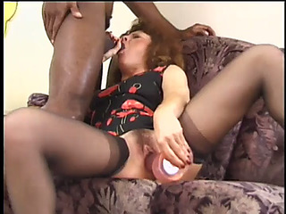 Old lascivious granny whore starlette acquires a hard anal screw by darren james