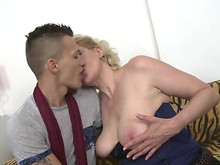 Mama sandra receives taboo sex with juvenile son