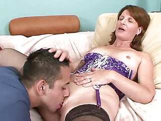 Granny acquires her pussyhole ate