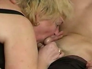 Russian Boy Nailing With Fat Granny