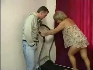 Fledgling Granny Doing Firm Anal
